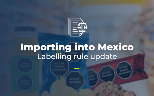 Labelling rule update